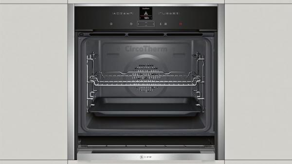 Neff B47CR32N0B Slide & Hide Single Oven