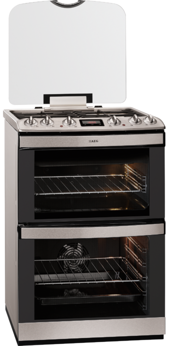 AEG 47132MM-MN 60cm Dual Fuel Cooker