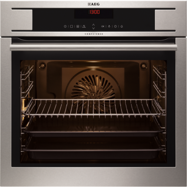 AEG BP730410KM Built-In Pyrolytic Single Oven