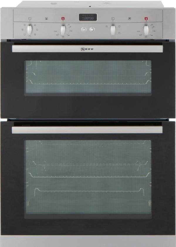 Neff U12S53N3GB Built-In Electric Double Oven