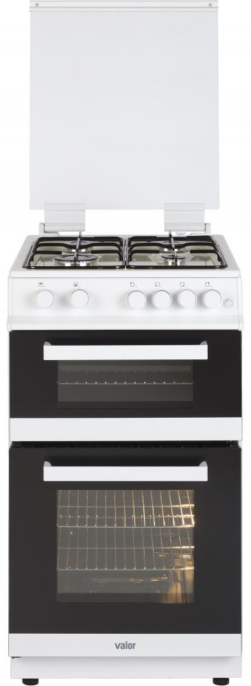 Valor V50GTCL White Freestanding 50cm Gas Cooker