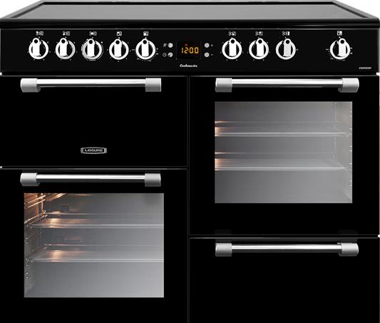 Leisure CK100C210K Black Cookmaster 100cm Electric Range Cooker