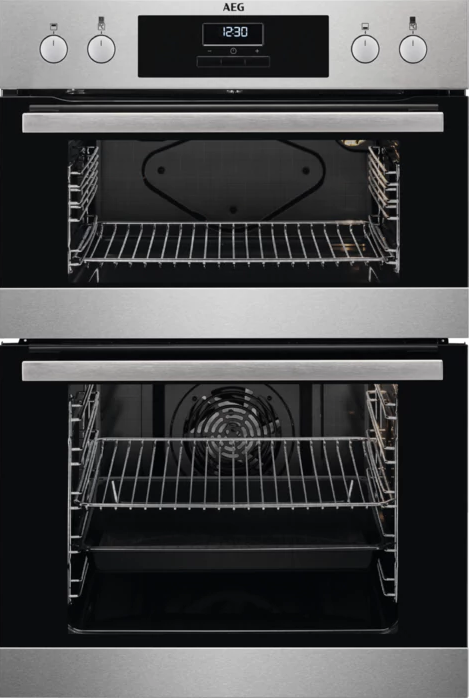 AEG DEB331010M Built-In Double Oven