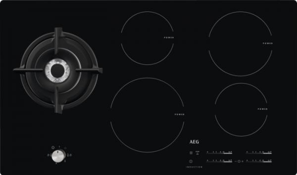 AEG HD955100NB 90cm Dual Fuel Hob