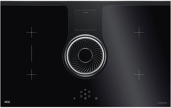 AEG IDE84242IB Induction Hob with Extraction