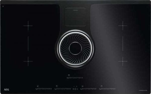 AEG IDK84451IB Induction Hob with Extraction