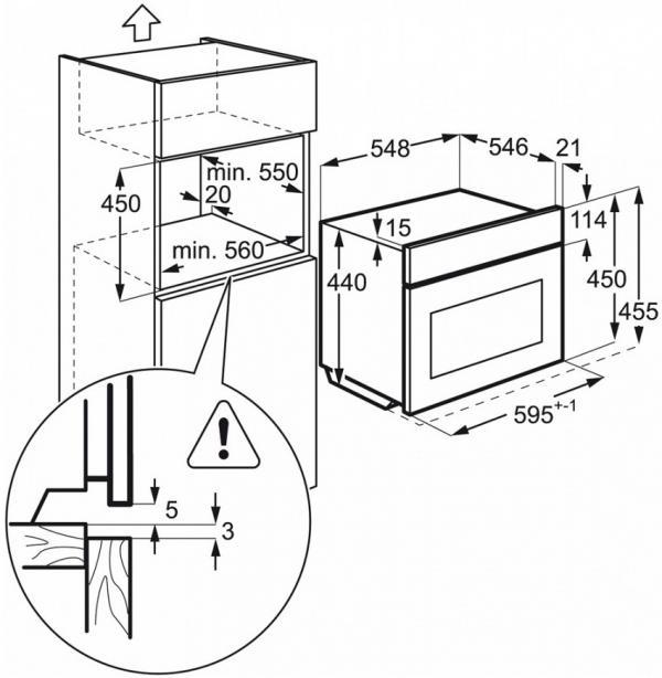 AEG KME761000M Built-In Combi Microwave Oven