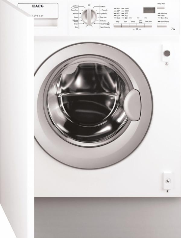 AEG L61470BI Integrated Washing Machine