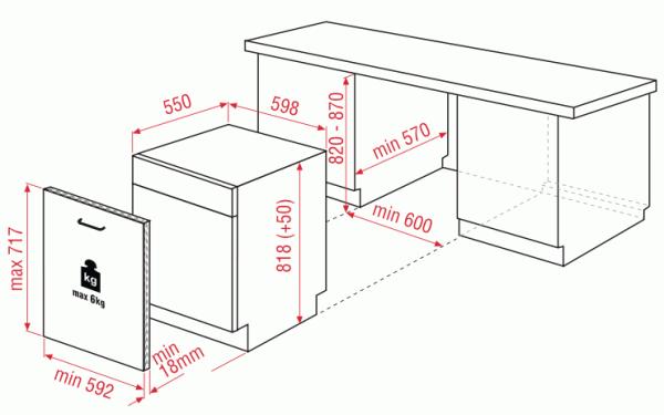 Blomberg LDV42244 60cm Integrated Dishwasher