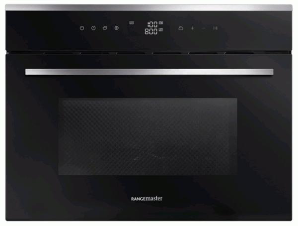 Rangemaster RMB45MCBL/SS 11230 Built-In Combi Microwave Oven