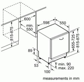 Bosch SMV46IX01G 60cm Fully Integrated Dishwasher