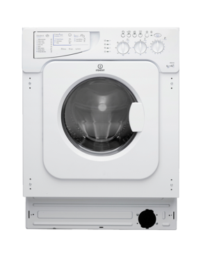 Indesit IWDE126 Integrated Washer Dryer