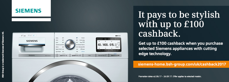 Siemens WD15G421GB Washer Dryer Banner
