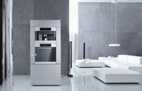 miele h5681bp single oven in stainless steel or black. Black Bedroom Furniture Sets. Home Design Ideas