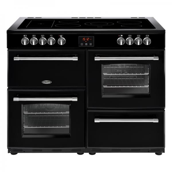 Belling 444444148 Black Farmhouse 110E Electric