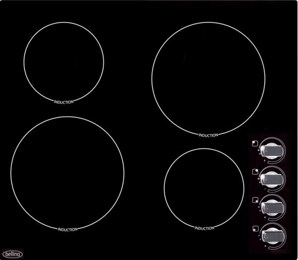 Belling 444440538 IH60R 60cm Induction Hob (EX DISPLAY)