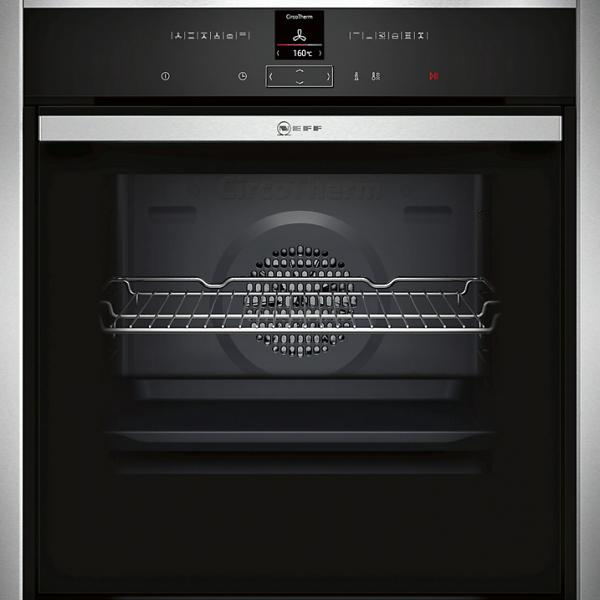 Neff B47CR32N1B Built-In Stainless Steel Single Oven
