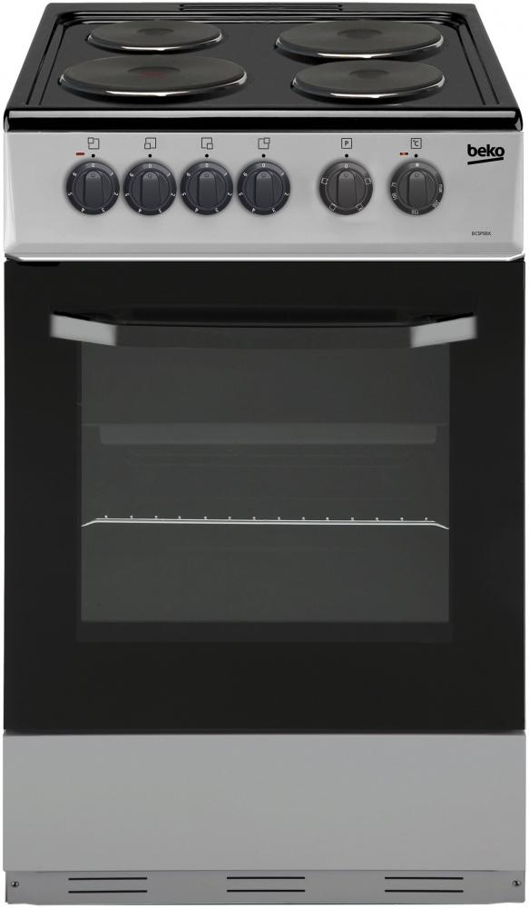 Beko BCSP50X Electric Cooker