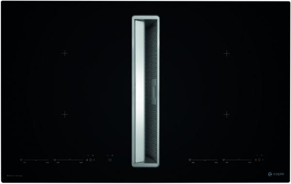 Caple DD940BK 90cm Induction Hob with Downdraft Extractor