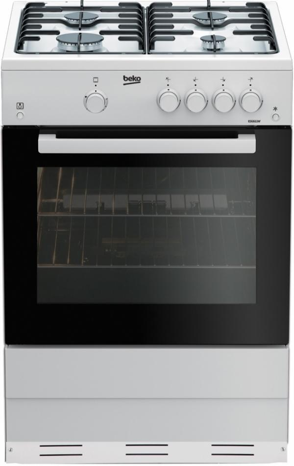 Beko ESG611W Gas Cooker