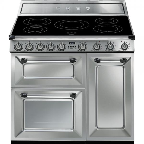 Smeg TR93IX 90cm Victoria Induction Stainless Steel Range Cooker