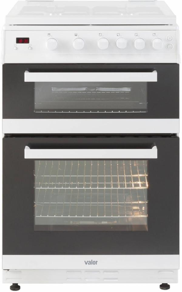 Valor V60GTCLM White Freestanding 60cm Gas Cooker