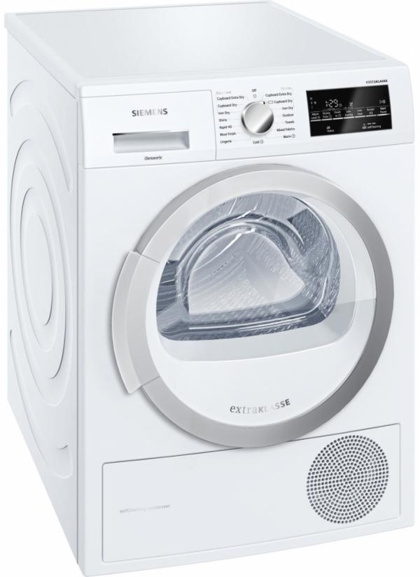 Siemens WT46W490GB Condenser Tumble Dryer