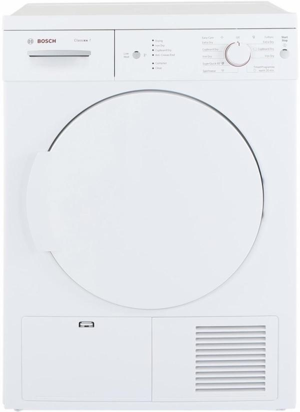 Bosch WTE84106GB Freestanding Condenser Dryer