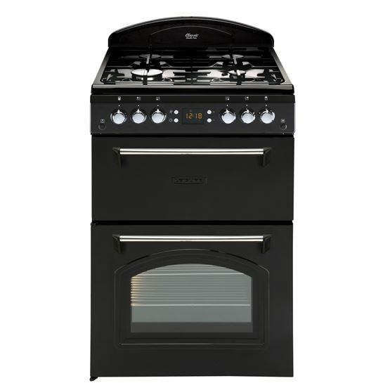 Leisure CLA60GAK Black Classic 60cm Gas Cooker