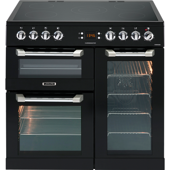 Leisure CS90C530K Black Cuisinemaster 90cm Electric Range Cooker