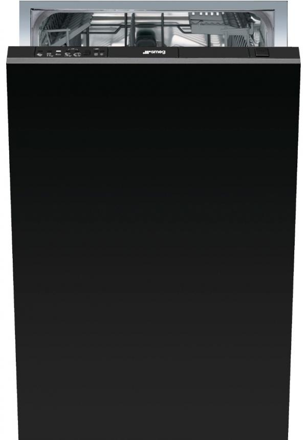 Smeg DIC410 Built-In Black 45cm Dishwasher