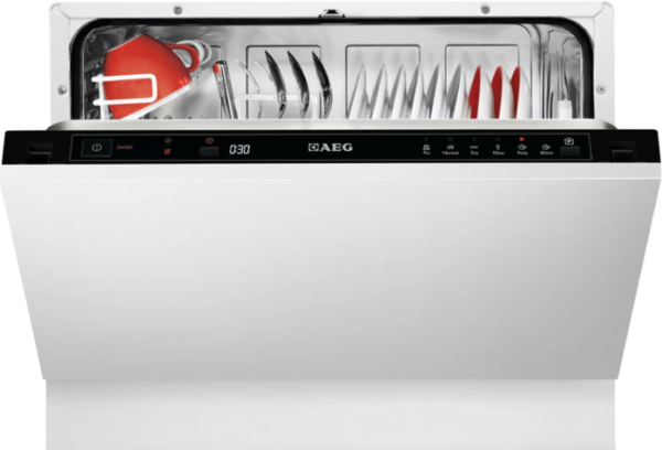 AEG F55210VI0 Integrated Compact Dishwasher