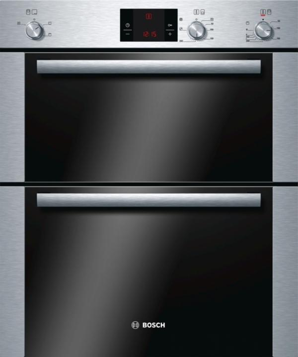 Bosch HBN13B251B Built Under Double Oven