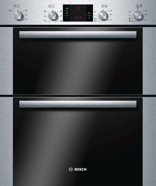 Bosch HBN43B250B Built Under Double Oven