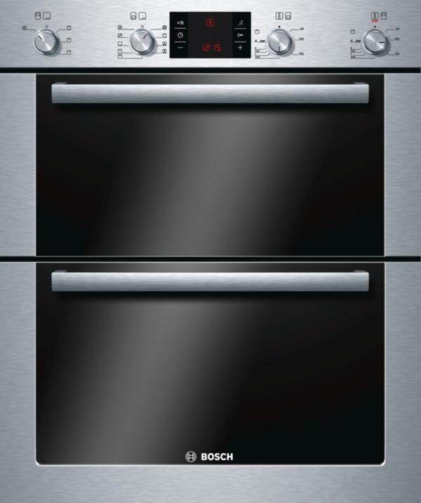 Bosch HBN53R550B Built Under Double Oven