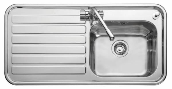 Leisure LX105L Left Handed Luxe Single Sink
