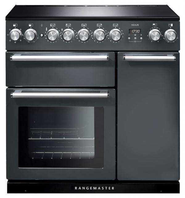 Rangemaster NEX90EISL/C 106180 Nexus 90cm Slate Induction Range Cooker (Cancelled Order)