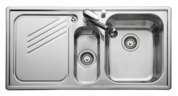 Leisure PL9852L Left Handed Proline Single Sink