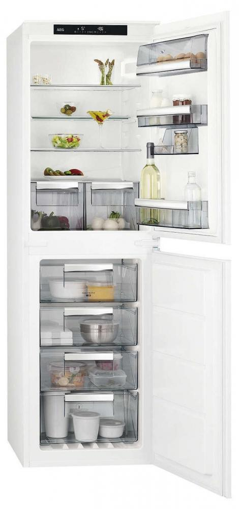 AEG SCE8181VNS Integrated Fridge Freezer