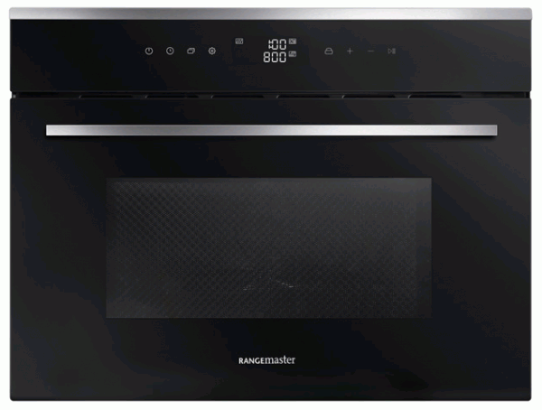 Rangemaster RMB45MCBL/SS 11230 Built-In Combi Microwave Oven