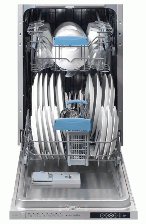Rangemaster RDW1045FI/ 105400 Built-In 45cm 10 Place Dishwasher