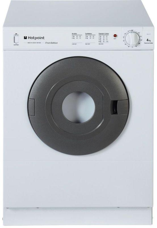 Hotpoint V4D01P Vented Compact Tumble Dryer