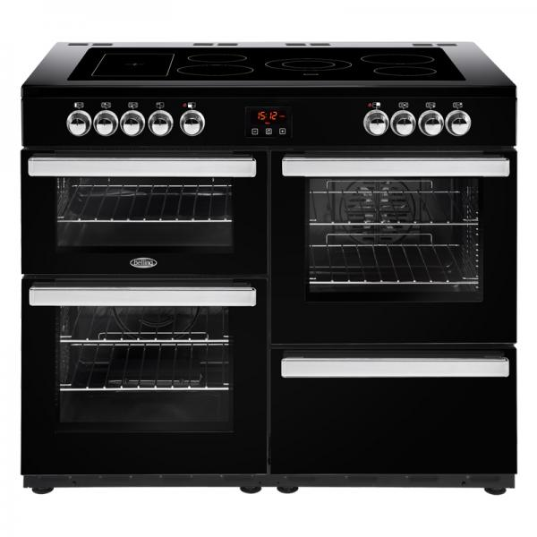 Belling 444444098 110E Black Cookcentre Electric Range Cooker