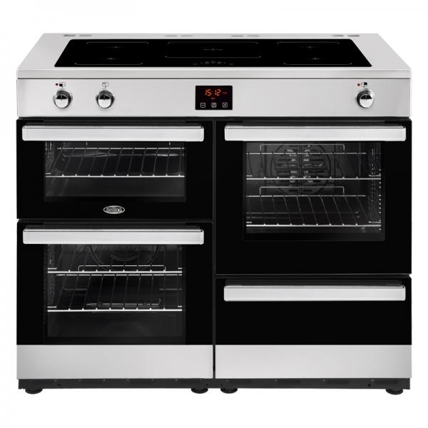 Belling 444444103 Stainless Steel 110EI Cookcentre Induction Range Cooker