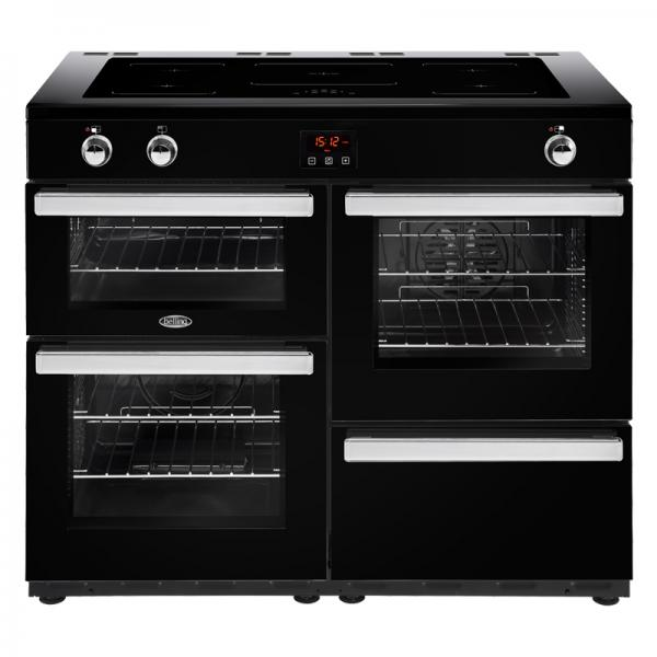 Belling 444444104 Black 110EI Cookcentre Induction Range Cooker