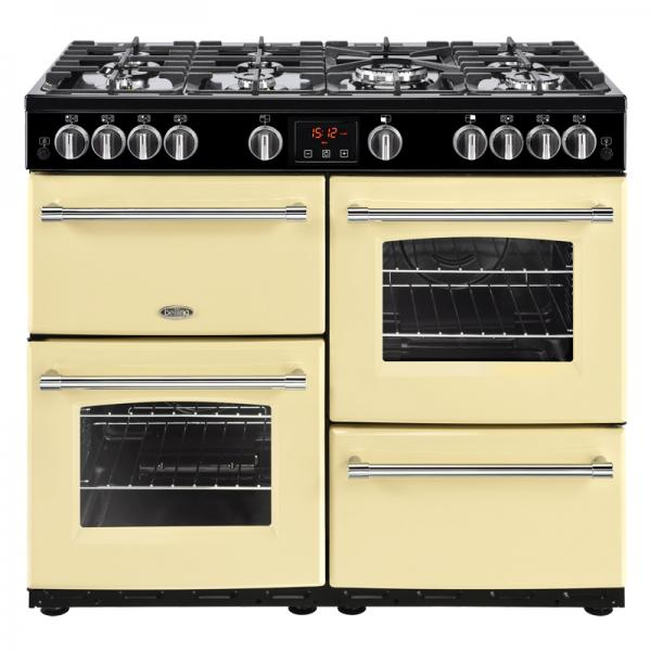 Belling 444444141 100G Cream Farmhouse Gas Range Cooker