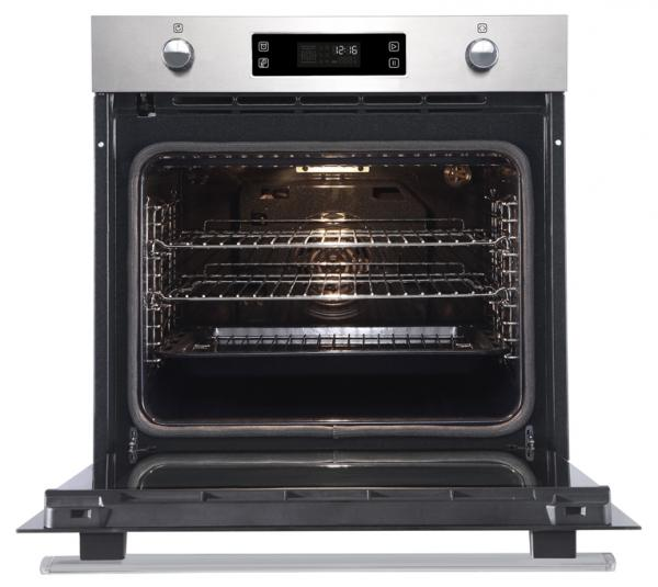 Belling BI602MFPY 444444779 Stainless Steel Pyrolytic Single Oven
