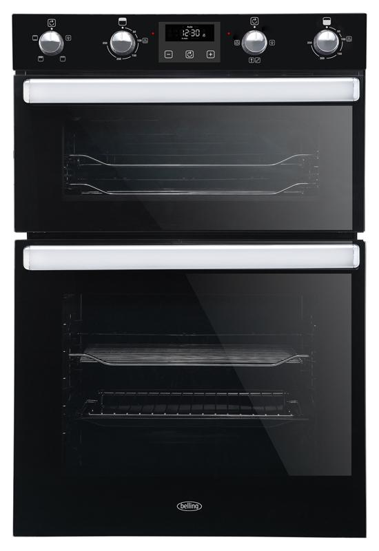 Belling BI902FP 444444786 Black Built-In Double Oven