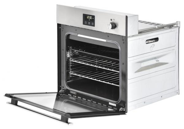 Belling BI602G 444444791 Stainless Steel Gas Single Oven