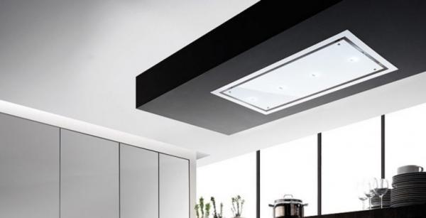 Airuno AU-OTEL120EW-LED Otello White 120cm Ceiling Hood